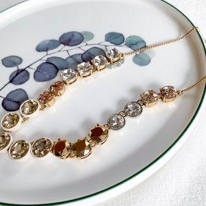 J. Crew Jewelry - J. Crew Crystal Stone Necklace